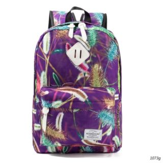 c82318f26a39 Stylish Women Backpacks Floral Print Bookbags Canvas – GVN Rocks